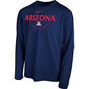 Nike Youth Arizona Wildcats Navy Legend Basketball Long Sleeve Tee