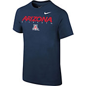 Nike Youth Arizona Wildcats Navy Logo T-Shirt