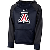 Nike Youth Arizona Wildcats Navy Therma Color Block Hoodie