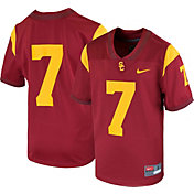 Nike Youth USC Trojans #7 Cardinal Game Football Jersey
