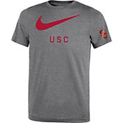 Nike Youth USC Trojans Grey DNA Legend T-Shirt