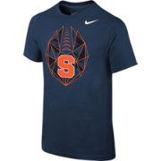 Nike Youth Syracuse Orange Blue Football Icon T-Shirt