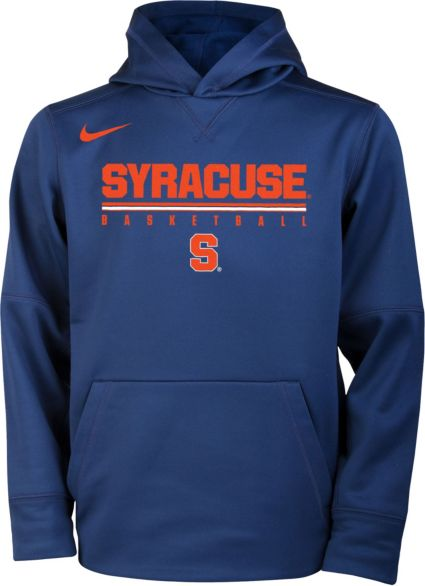 Nike Youth Syracuse Orange Blue Legend Basketball Hoodie Dick S