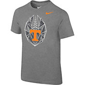 Nike Boys' Tennessee Volunteers Grey Football Icon T-Shirt