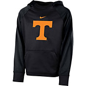 Nike Youth Tennessee Volunteers Anthracite Therma Color Block Hoodie