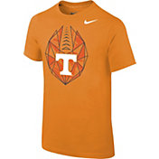 Nike Youth Tennessee Volunteers Tennessee Orange Football Icon T-Shirt