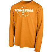 Nike Youth Tennessee Volunteers Tennessee Orange Legend Basketball Long Sleeve Tee