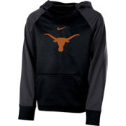 Nike Youth Texas Longhorns Black Therma Color Block Hoodie