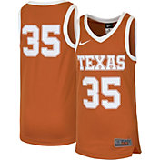 Nike Youth Texas Longhorns #35 Burnt Orange Replica ELITE Basketball Jersey