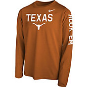 Nike Youth Burnt Orange Burnt Orange Legend Core Long Sleeve Shirt