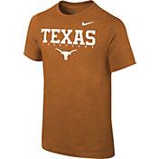 Nike Youth Texas Longhorns Burnt Orange Logo T-Shirt