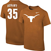 Nike Youth Texas Longhorns Kevin Durant #35 Burnt Orange Future Star Replica Basketball Jersey T-Shirt