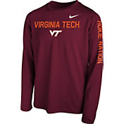 Nike Youth Maroon Maroon Legend Core Long Sleeve Shirt