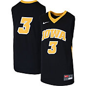Nike Youth Iowa Hawkeyes #3 Replica Basketball Black Jersey