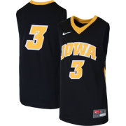 Nike Youth Iowa Hawkeyes  3 Replica Basketball Black Jersey  7d36af586