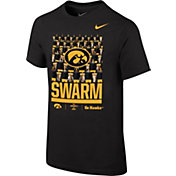 Nike Youth Iowa Hawkeyes Local Black T-Shirt