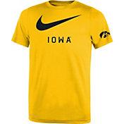Nike Youth Iowa Hawkeyes Gold DNA Legend T-Shirt