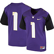 Nike Youth Washington Huskies #1 Purple Game Football Jersey