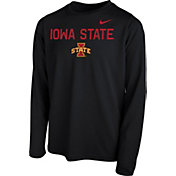Nike Youth Iowa State Cyclones Legend Core Black Long Sleeve Shirt