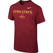 Nike Youth Iowa State Cyclones Cardinal Logo T-Shirt