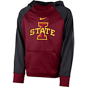 Nike Youth Iowa State Cyclones Cardinal Therma Color Block Hoodie