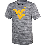 Nike Youth West Virginia Mountaineers Velocity Heather Football Dri-FIT Travel Legend T-Shirt
