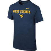 Nike Youth West Virginia Mountaineers Blue Football Facility T-Shirt