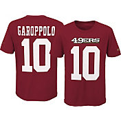 Nike Youth San Francisco 49ers Jimmy Garoppolo #10 Pride Red T-Shirt