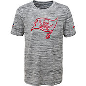 Nike Youth Tampa Bay Buccaneers Dri-FIT Legend Velocity Grey Performance T-Shirt