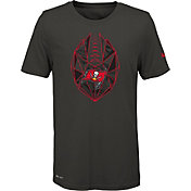 Nike Youth Tampa Bay Buccaneers Icon Performance Pewter T-Shirt