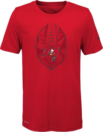 Nike Youth Tampa Bay Buccaneers Icon Performance Red T-Shirt. noImageFound 7b76a1e7e