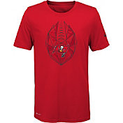 Nike Youth Tampa Bay Buccaneers Icon Performance Red T-Shirt