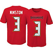 Nike Youth Tampa Bay Buccaneers Jameis Winston #3 Pride Red Player T-Shirt