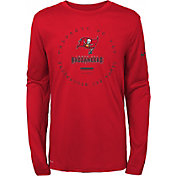Nike Youth Tampa Bay Buccaneers Property Of Long Sleeve Red Shirt