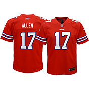 Nike Youth Color Rush Game Jersey Buffalo Bills Josh Allen #17