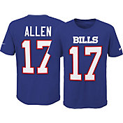 Nike Youth Buffalo Bills Josh Allen #17 Pride Royal T-Shirt