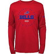Nike Youth Buffalo Bills Property Of Long Sleeve Red Shirt