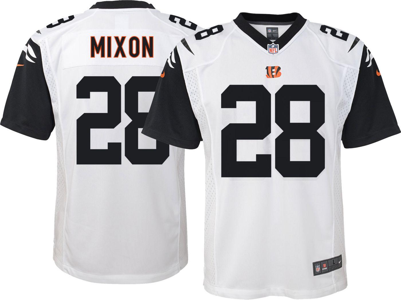 Nike Youth Color Rush Game Jersey Cincinnati Bengals Joe Mixon #28