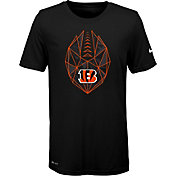 Nike Youth Cincinnati Bengals Icon Performance Black T-Shirt