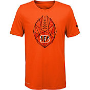 Nike Youth Cincinnati Bengals Icon Performance Orange T-Shirt