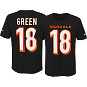 Nike Youth Cincinnati Bengals A.J. Green #18 Pride Black T-Shirt