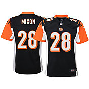 Nike Youth Cincinnati Bengals Joe Mixon #28 Black Game Jersey