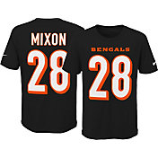 Nike Youth Cincinnati Bengals Joe Mixon #28 Black T-Shirt