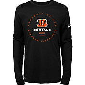 Nike Youth Cincinnati Bengals Property Of Long Sleeve Black Shirt