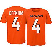 Nike Youth Denver Broncos Case Keenum #4 Pride Orange T-Shirt