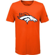 Nike Youth Denver Broncos Essential Logo Performance Orange T-Shirt