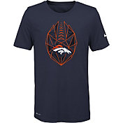 Nike Youth Denver Broncos Icon Performance Navy T-Shirt