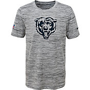 Nike Youth Chicago Bears Dri-FIT Legend Velocity Grey Performance T-Shirt