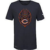 Nike Youth Chicago Bears Icon Performance Navy T-Shirt