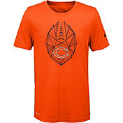Nike Youth Chicago Bears Icon Performance Orange T-Shirt